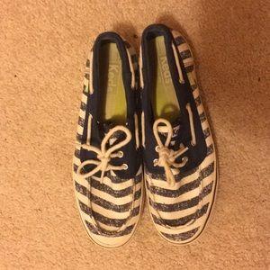 """Keds laced """"sailor"""" shoes."""
